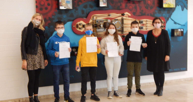 Mathematik-Olympiade an der Gesamtschule Wenden
