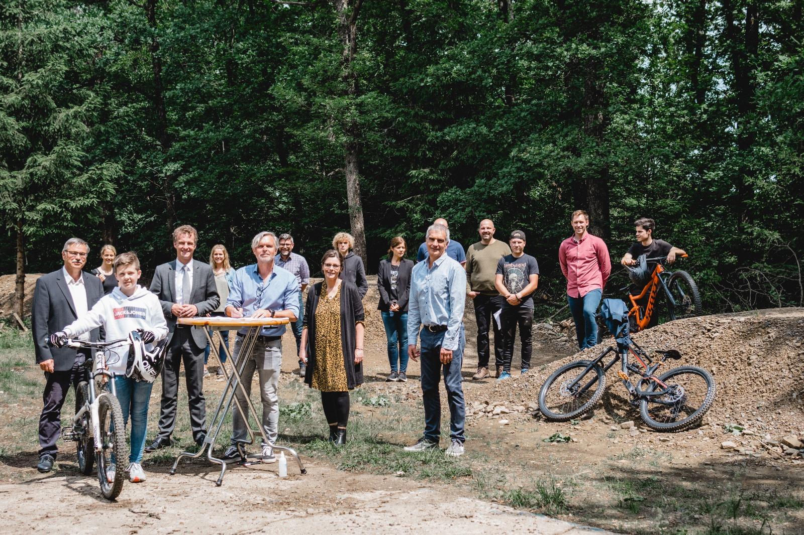 Kooperation mit Mountainbike Verein